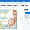 Продам Подгузники Pampers Premium Care Mini 2 4-8кг 20шт