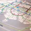 Концепция движения общественного транспорта и остановок внутри района