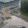 Улицу Анатолия Мехренцева вновь затопило