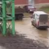 Потоп на перекрёстке улиц Исследователей и Краснолесья