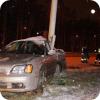 Первый снег испортил «тест-драйв» Subaru