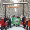 В Юго-Западном лесопарке прошёл новогодний праздник для школьников