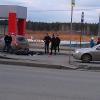 Автогонщики устроили в Академическом два ДТП