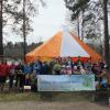 Экологическая акция по уборке лесопарка и итоги конкурса кормушек и скворечников