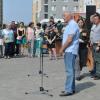Эдуард Россель поздравил бойцов ВСС «Академический» с Днём строителя