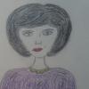 Маленькие Мисс представили творческие работы «Портрет моей мамы»