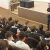 Евгений Ройзман рассказал воспитанникам школы № 23 о своей будущей книге