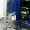 В витрину «Ленты» въехала Subaru