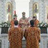 Владыка Кирилл совершил Божественную литургию в Храме района