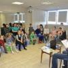 В храме святого князя Владимира работают молодёжный клуб и воскресная школа