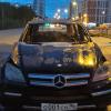 Ночью на улице Краснолесья сгорел Merсedes