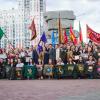 В Академическом торжественно закрыли восьмую Всероссийскую студенческую стройку