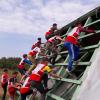 Школьники Академического в «Гонке героев» обошли 6 воинских частей
