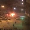 Во дворе седьмого квартала сгорел автомобиль