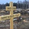 На месте вырубленной Берёзовой рощи появился крест из берёзы