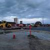 Заасфальтировали: перекрёсток проспекта Сахарова и улицы Амундсена закатали в асфальт