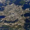 Академический район попал на фото из космоса