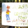 «Дядя Валера, давай жить дружно!»: мама с сыном нарисовали плакат в защиту Берёзовой Рощи