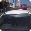 Падение стройматериалов на автомобиль