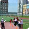 Футбол перенесли на школьный стадион