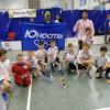 Юные хоккеисты из Академического взяли чемпионский кубок на областном турнире по флорболу