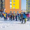 Более 700 спортсменов приняли участие в «Лыжне России» в Преображенском парке