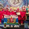 Едут на Чемпионат Мира! Мажоретки из школы № 23 стали призёрами Чемпионата России по батон твирлингу