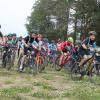 Победила половина участников: в Академическом прошла велогонка в рамках летней спартакиады