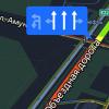 С Объездной дороги на улицу Амундсена разрешили поворачивать налево с двух рядов
