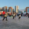 Районная спартакиада стартовала соревнованиями на коньках среди любителей и профессионалов