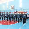 Воспитанники школы №16 обошли 400 стройотрядовцев во время городского Смотра строя и песни