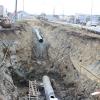 На Тенистой улице прокладывают новый газопровод