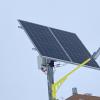 В Преображенском парке устанавливают фонари с солнечными батареями