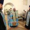 Митрополит Евгений возглавил всенощное бдение в храме Святых Божиих строителей