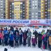 Лыжня России 2021: фирменных шапок хватило всем!