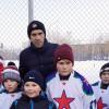 Павел Дацюк встретился с командой «Юность. Академический»
