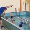 Звезда мирового спорта Юрий Прилуков провёл уроки плавания в школе №23