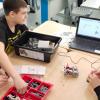 Отдохнули с умом: во время каникул школьники из Академического создали роботов