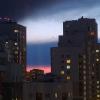 «Это знак!»: над Академическим небо окрасилось в цвета российского флага