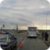 ДТП с автобусом на развороте