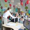 В Академическом поздравляют учителей