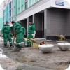 Владимир Задумин расчистил тротуар