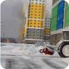Уборка снега с эвакуацией авто
