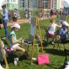 Жители района отметили День защиты детей