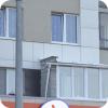 Житель вынес балкон за пределы квартиры