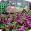 Художники разрисовали автобус № 54