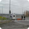 Нелегальная стоянка на улице Рябинина