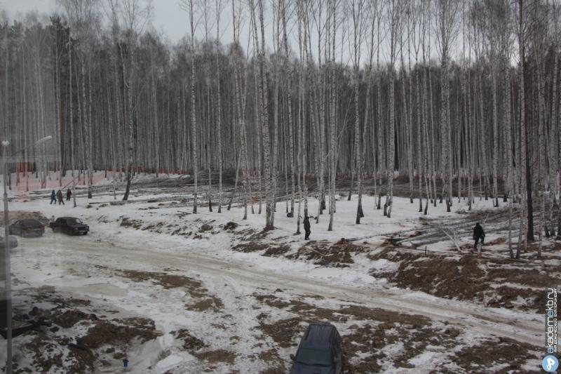 Академический район Екатеринбург Прощай Березовая роща!