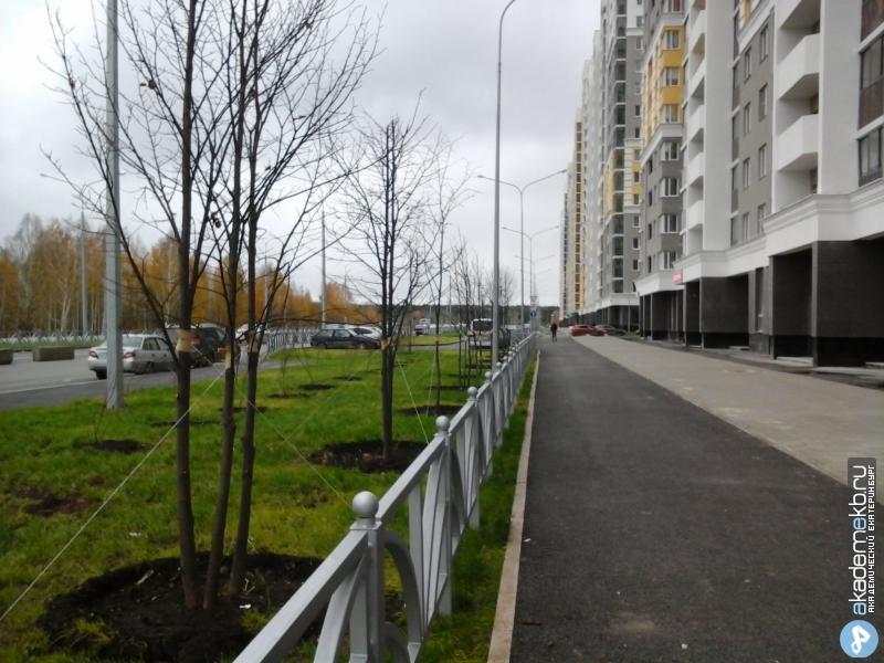Академический район Екатеринбург Улицу Рябинина облагородили