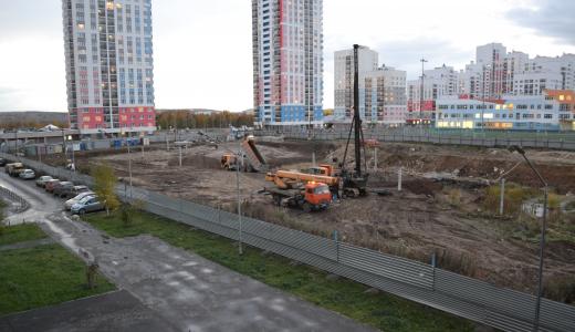 В районе началось строительство второй очереди школы № 23